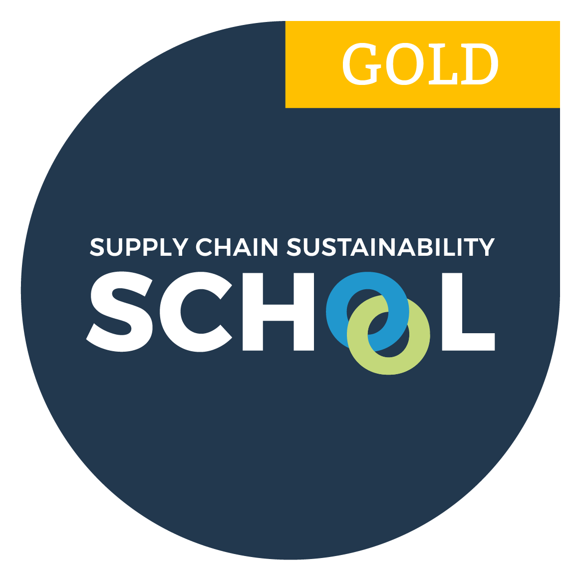 Supply Chain Sustainability Gold Member